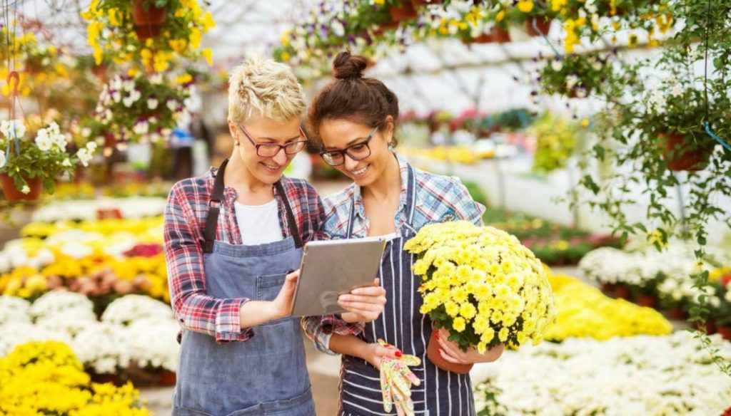 Donne e Giardinaggio