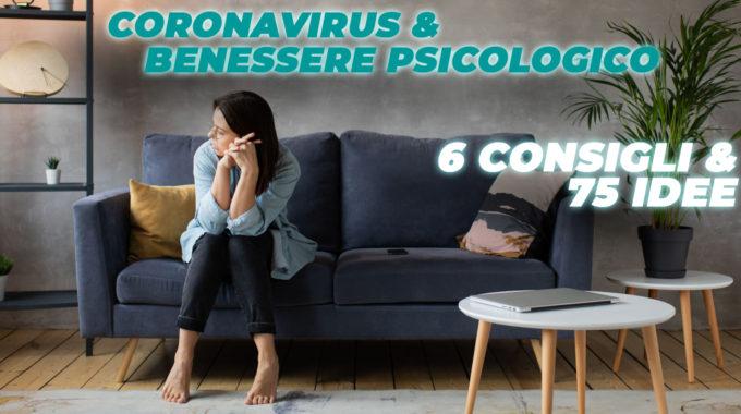 Consigli Benessere Psicologico Covid